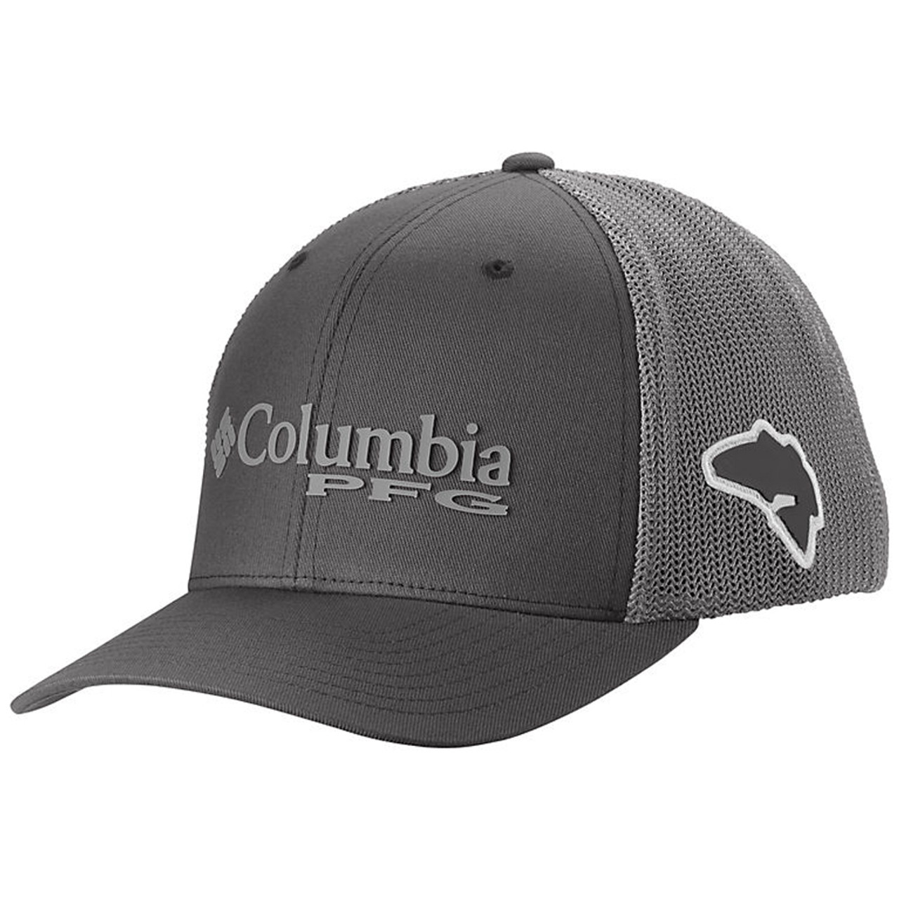Columbia Mens Pfg Mesh Ball Cap Collegiate Navy Small//Medium New