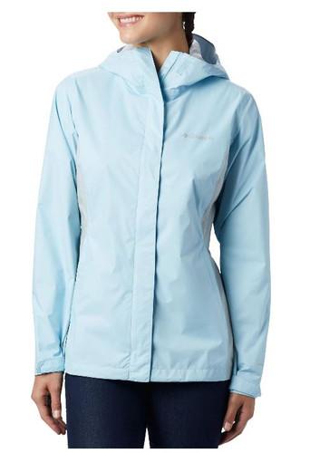 Women's Arcadia II Rain Jacket White Ramsey Outdoor