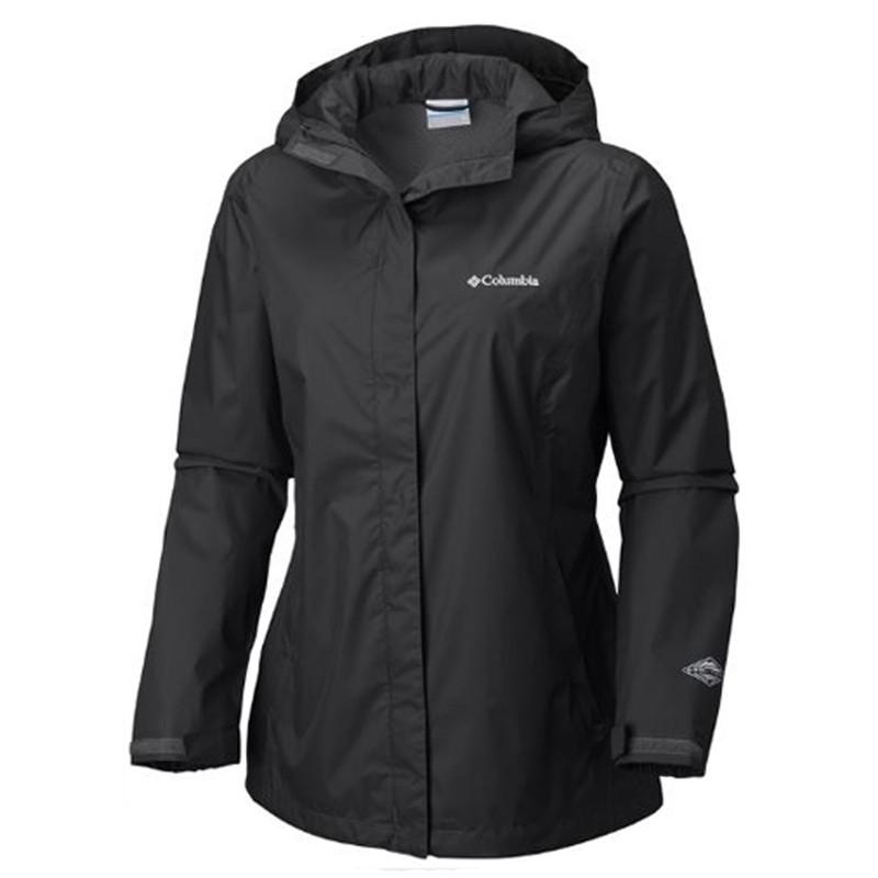Women's Arcadia II Rain Jacket Black