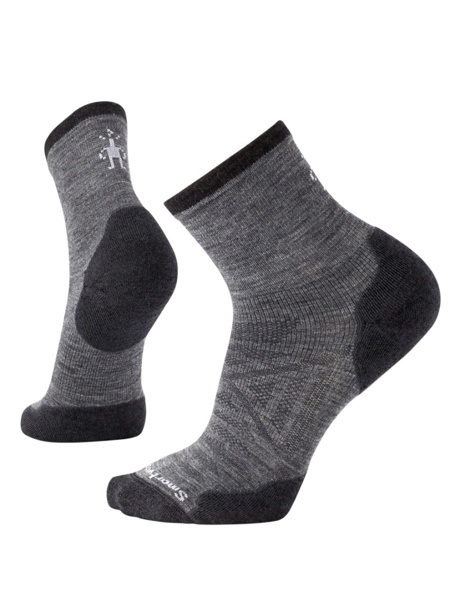 Taupe//Olive, Medium Rocky Mens Wool Crew Sock