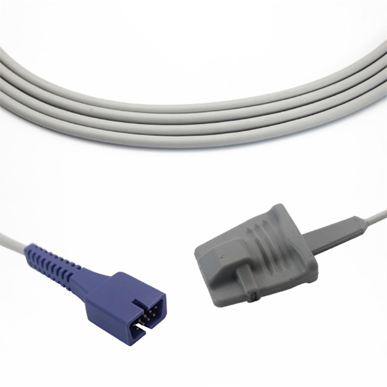 Nellcor Covidien SpO2 Compatible Direct Connect 9 Pin - Adult Soft