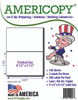 "Americopy Labels - Half Sheet Labels - 8-1/2"" x 5-1/2"" - 2 Labels Per Sheet"