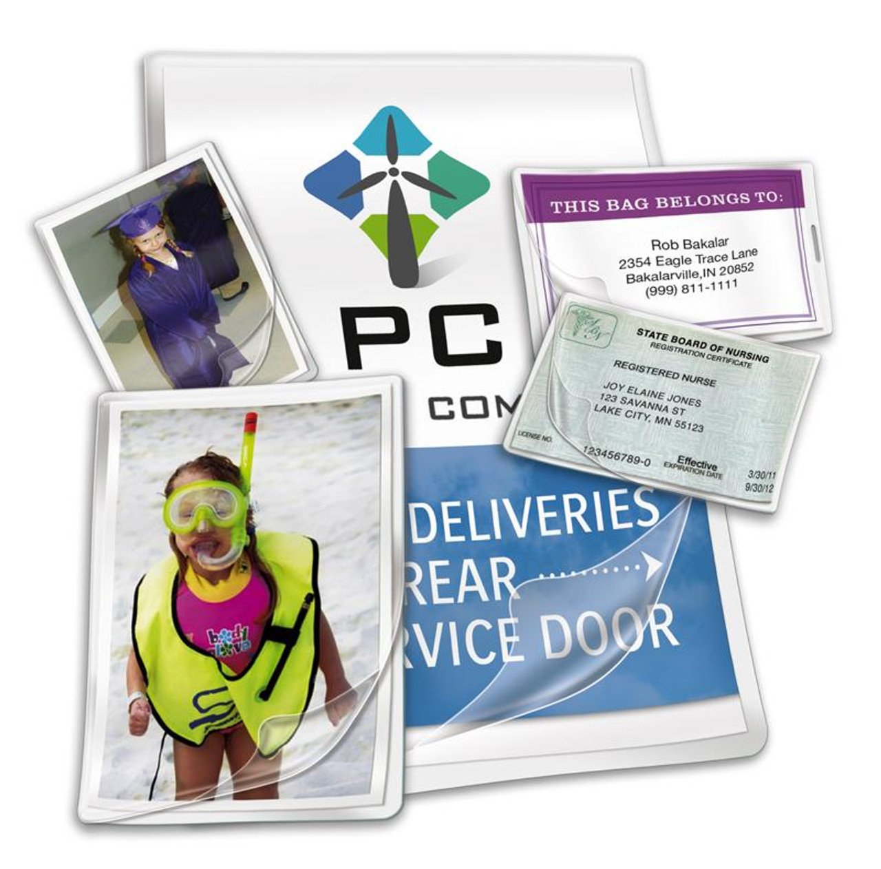 """10 Mil. - Letter - Laminating Pouches - 9"""" x 11-1/2"""""""