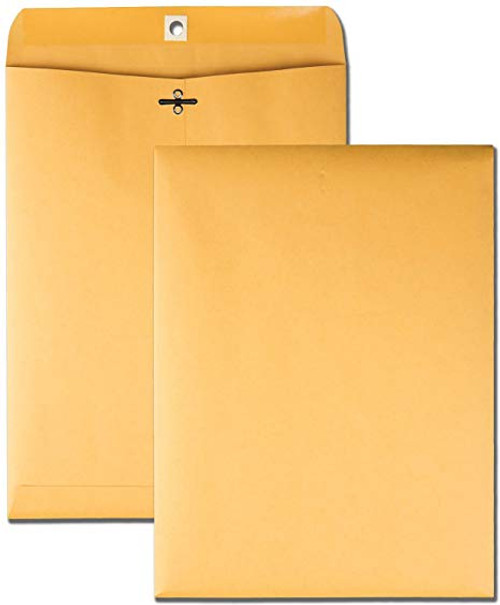 "6"" x 9"" (6"" Width x 9"" Length) - 28 lb Clasp Envelopes - Manila"