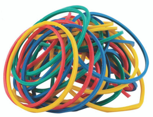 Assorted Color Rubber Band Ball - 275 Rubber Bands Per Ball