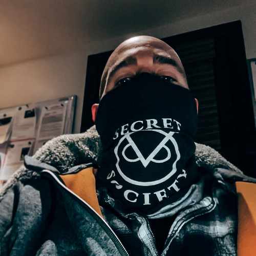 Tube Bandanna Face Mask Secret Society *Limited Edition*