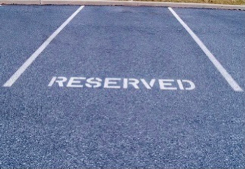 VIP Space Parking Reservation
