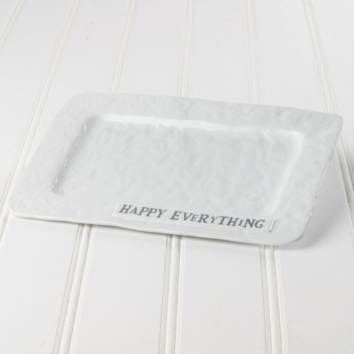 Large Serving Platter 'Happy Everything'