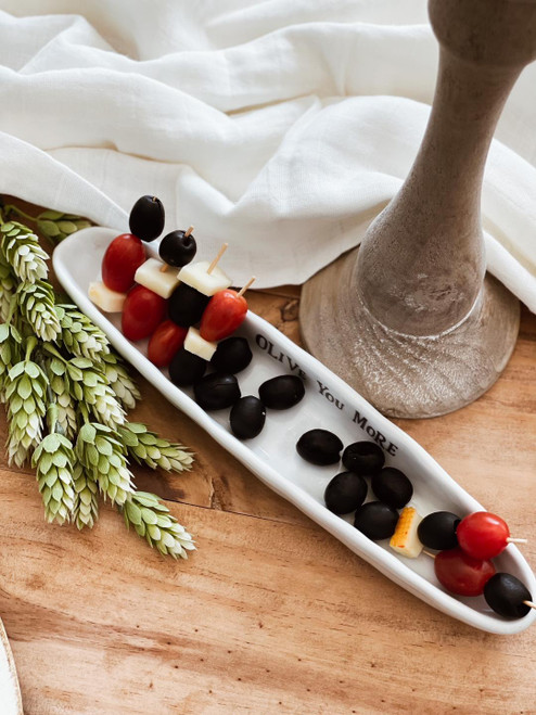 Serving Dish 'Olive You More'
