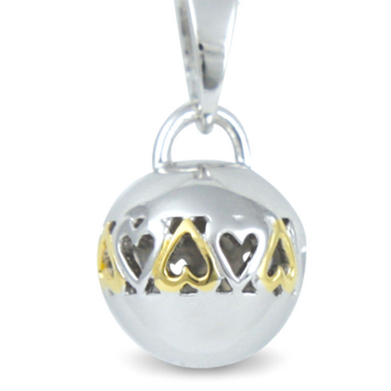 Circle of Love - Never Ending (cute size) - sterling silver pendant