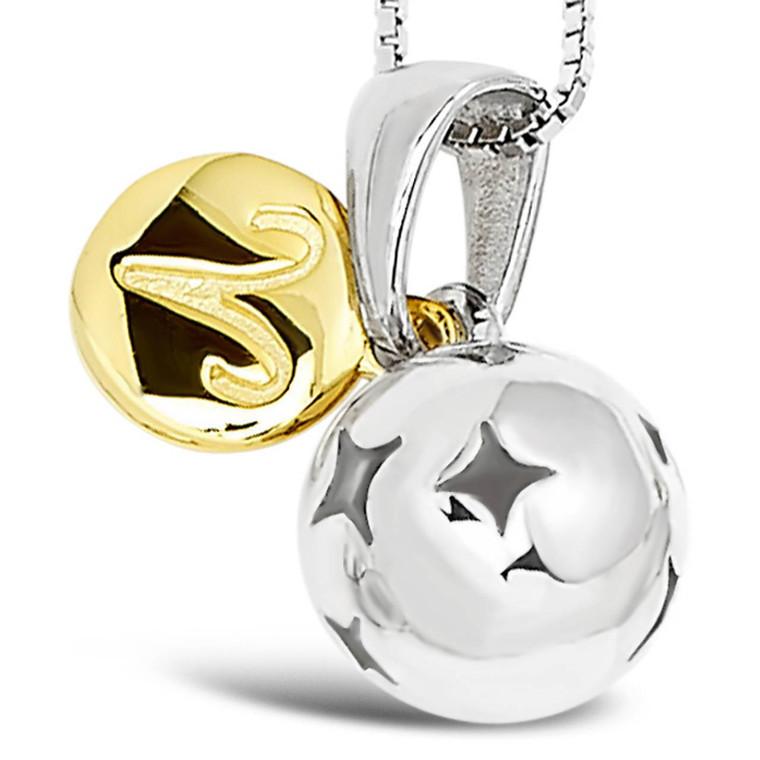 Zodiac silver pendant - Aries - Mar 21 - Apr 19