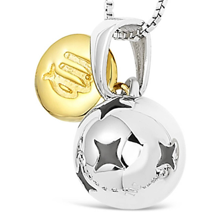 Zodiac silver pendant - Virgo - Aug 23 - Sep 22