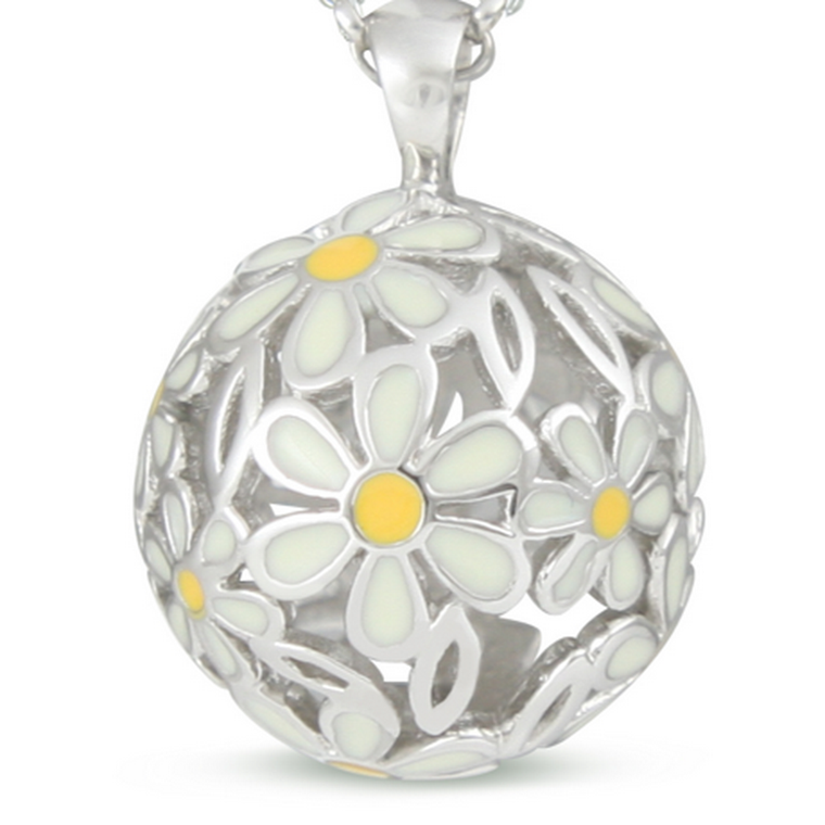 Daisies - Naturally Pretty - sterling silver pendant