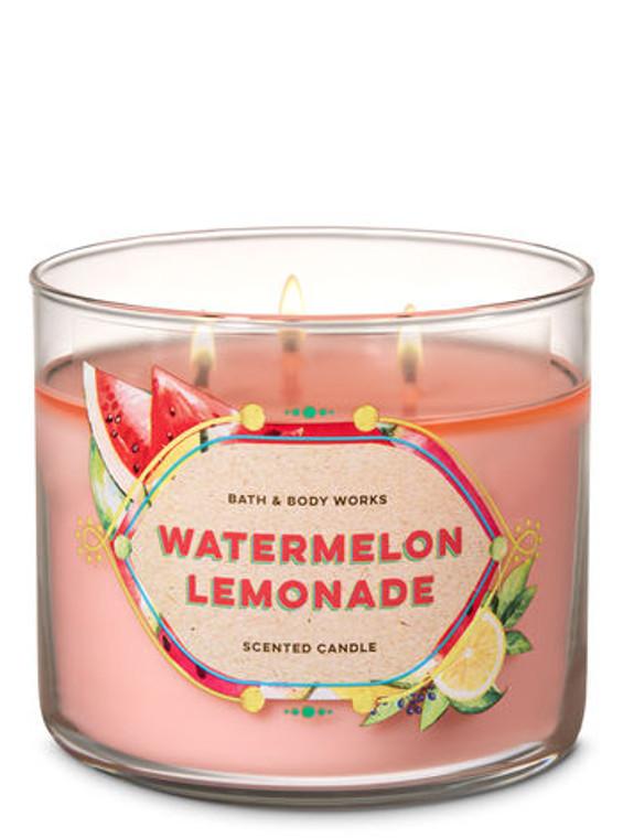 WATERMELON LEMONADE -- The World's Best 3-Wick Candle by Bath & Body Works