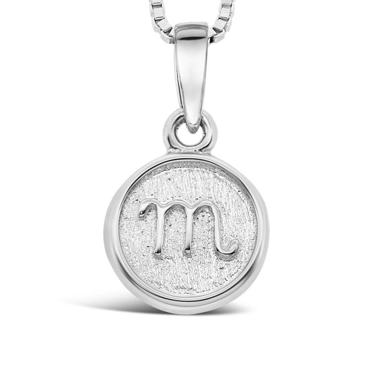 Sterling Silver 'M' pendant