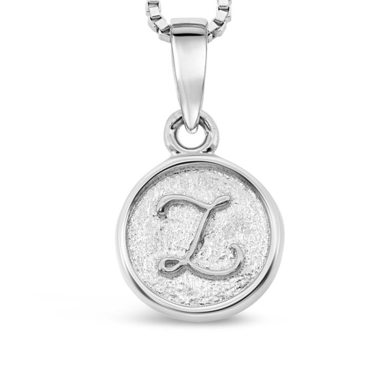 Sterling Silver 'Z' pendant