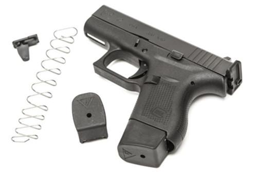 Para Glock 2 revista extensión plus base de extensión de Base Pad