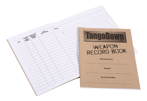 TangoDown Shooters Log (Pack of 5) TDSL-001