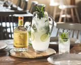 Non-Alcoholic Mojito Pitcher Mocktail Recipe | Lyre's