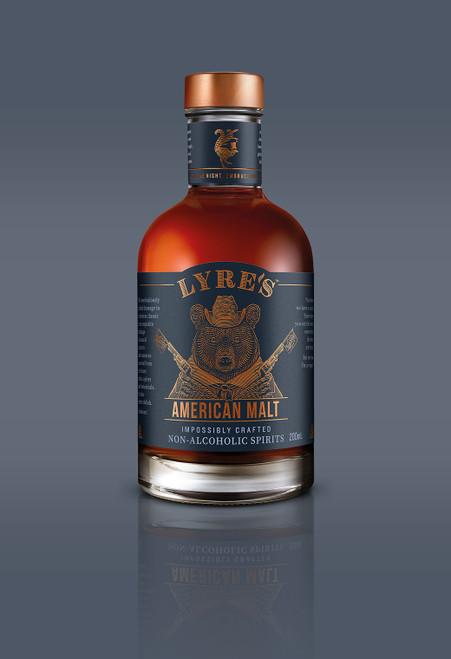 American Malt Non-Alcoholic Spirit - Bourbon | 200ml Small | Lyre's