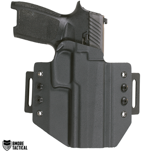 Outside-facing Side of the Sig Sauer P320/Compact/M17/M18/Legion OWB Right Handed Holster.