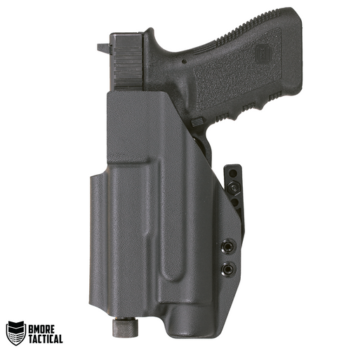 Body-facing Side of the Glock 17/22/31 w/ TLR-1 IWB Holster is slick and smooth for maximum comfort.