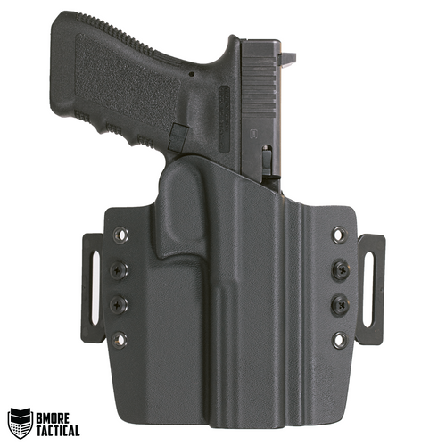 Outside-facing Side of the Glock 34/35 OWB Right Handed Holster.