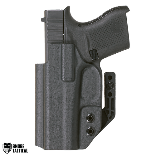 Body-facing Side of the Glock 43 Holster is slick and smooth for maximum comfort.