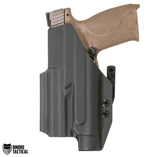 """Body-facing Side of the Smith & Wesson M&P 4.25"""" W/TLR-1 Holster is slick and smooth for maximum comfort."""