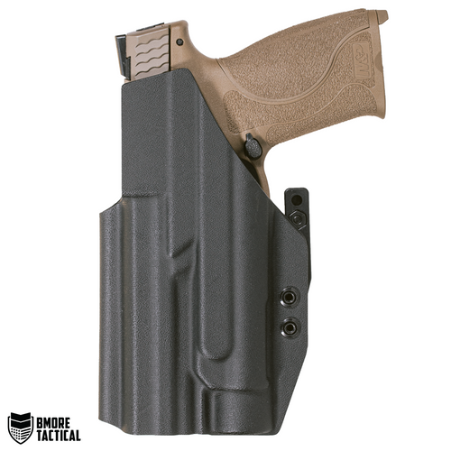 """Body-facing Side of the Smith & Wesson M&P 5"""" W/TLR-1 Holster is slick and smooth for maximum comfort."""