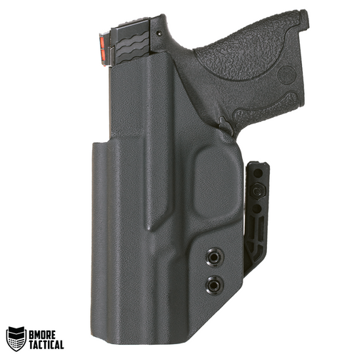 Body-facing Side of the Smith & Wesson M&P Shield Holster is slick and smooth for maximum comfort.