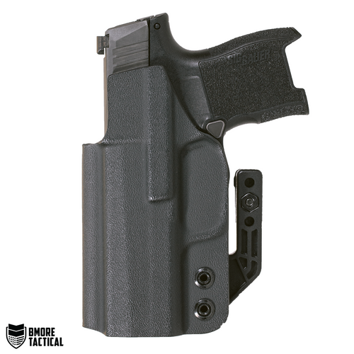 Body-facing Side of the Sig Sauer P365 IWB Holster is slick and smooth for maximum comfort.
