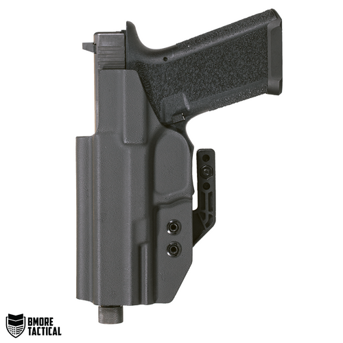 Body-facing Side of the Polymer 80 Glock 17/22/31 Holster is slick and smooth for maximum comfort.