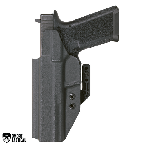 Body-facing Side of the Polymer 80 Glock 34/35 Holster is slick and smooth for maximum comfort.