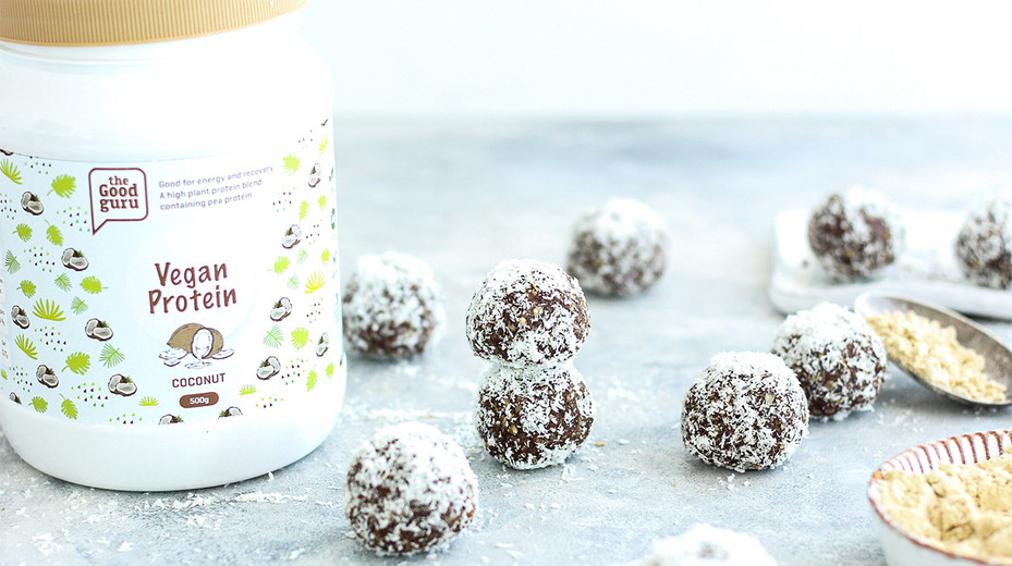 Coconut Cacao Bliss Balls