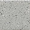 """American Olean Unglazed Colorbody Porcelain Mosaic 2"""" x 1"""" Light Smoke Speckled Dot-Mounted Mosaic"""
