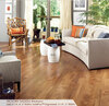 """Somerset Character Collection Engineered Plank Hickory Saddle 3 1/4"""""""