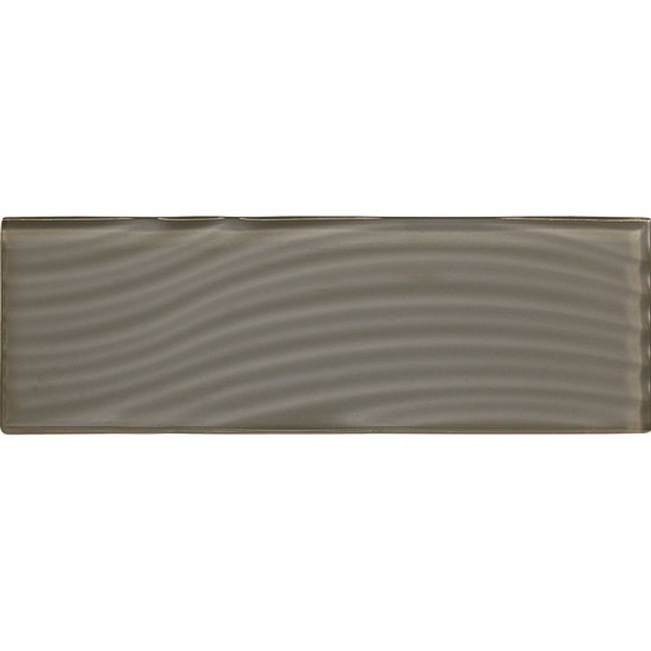 American Olean Color Appeal Abstracts Mink 4 X 12 Glass Tile