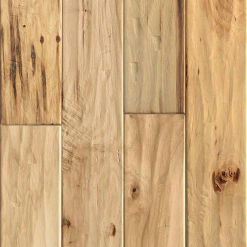 "ARK Floors Artistic Collection 1/2"" x 5"" Hickory Natural Engineered Hardwood"