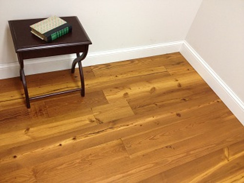 """EcoTimber Antique Reclaimed Heart Pine 6"""" Ambered Natural"""
