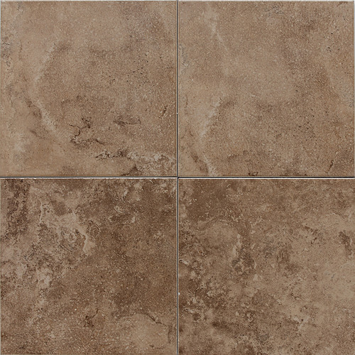 "American Olean Pozzalo 18"" x 18"" Weathered Noce Floor Tile"