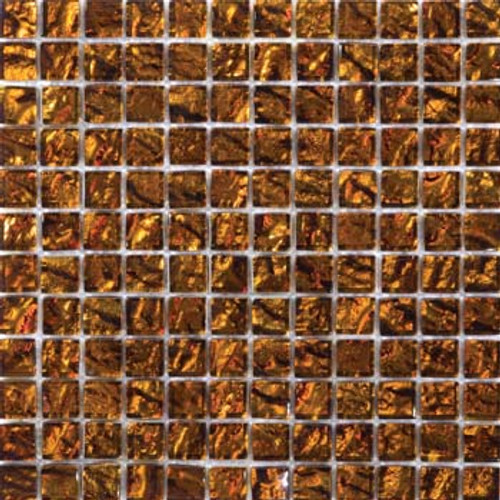 "Emser Tile Glass Vista 1"" x 1"" Venini Mosaic"