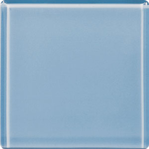 "Crossville Brilliante Glass 3"" x 3"" Blue Topaz Wall Tile"