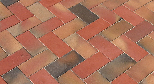 McNear Thin Brick Town Series Peacock Pavers