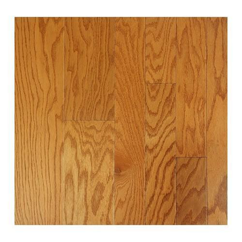 "Nuvelle American Collection Engineered Hardwood 5"" Red Oak Golden Oat"