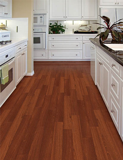 """Home Legend .6mm Collection Matte Bailey Mahogany HDF 5"""" x up to 47 1/4"""" Hardwood"""