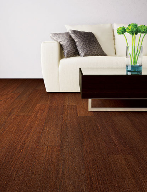 """Home Legend Strand Woven Sapelli Solid T&G 4 3/4"""" x 36"""" Bamboo"""