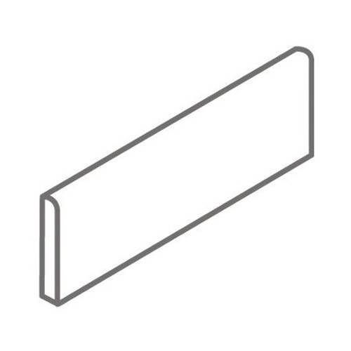 """American Olean Abound 2"""" x 6"""" Surface Bullnose Wall Trim"""