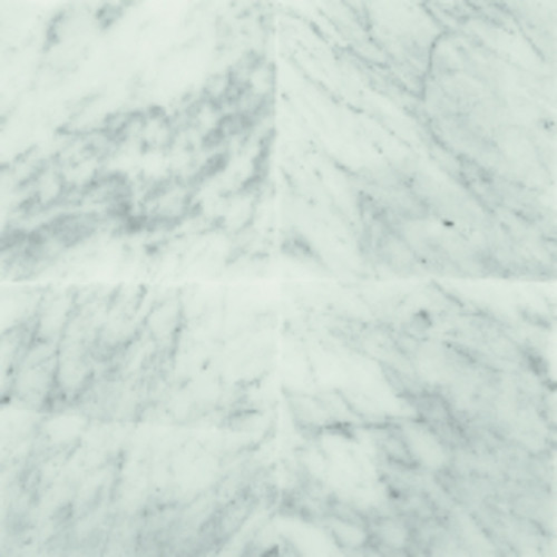 """American Olean Stone Source Marble Carrara White Polished 12"""" x 12"""" Large Field Tile"""