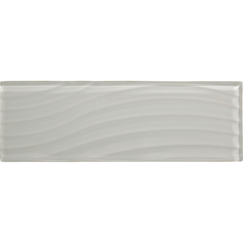"""American Olean Color Appeal Abstracts Pearl 4"""" x 12"""" Glass Tile"""